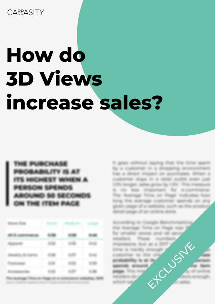 How do 3D Views increase sales?