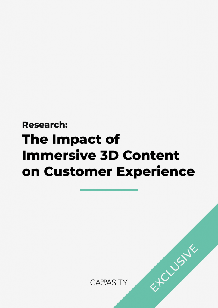 Research: The Impact of Immersive 3D Content on Customer Experience